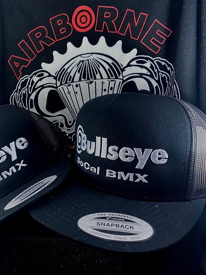 Bullseye SoCal BMX Black and Silver