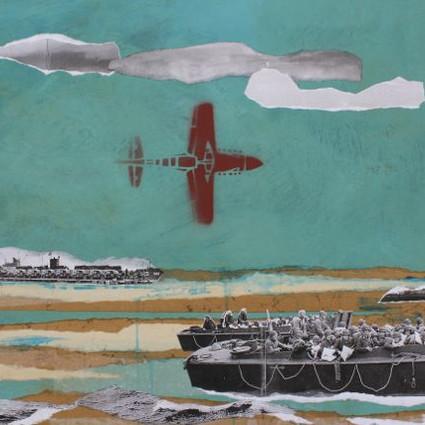 Fresque : la seconde guerre mondiale en Normandie : de l'occupation à la reconstruction