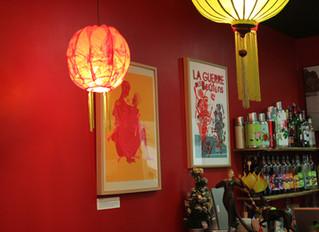 Exposition dans le restaurant le Timsam