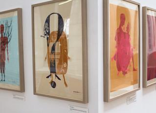 Panorama : exposition dans le réseau des galeries en lycées et collèges en Basse-Normandie
