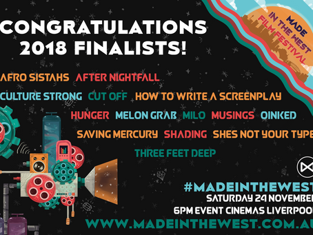 2018 FINALISTS announced!