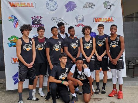 HS Boys Basketball Team - WAISAL Runners Up