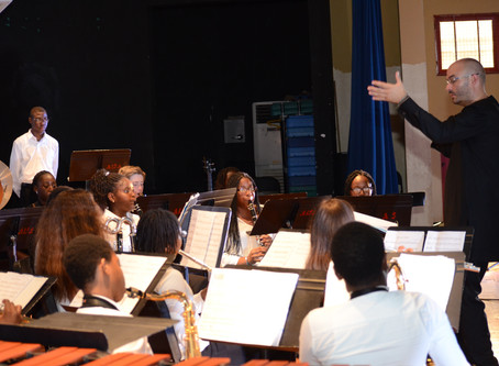 AISA Band World Premiere Concert With Peter McKenzie