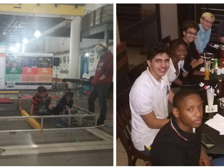 HS Robotics team returns from South Africa