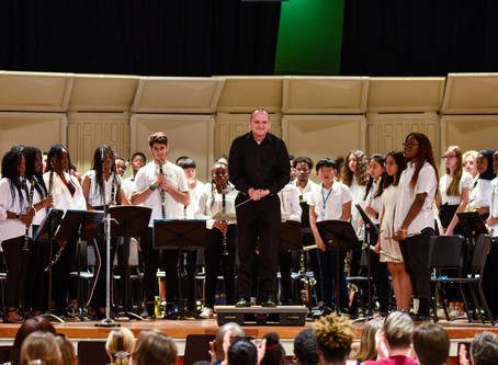 Congratulations to the HS Band - WAISAL Band Festival