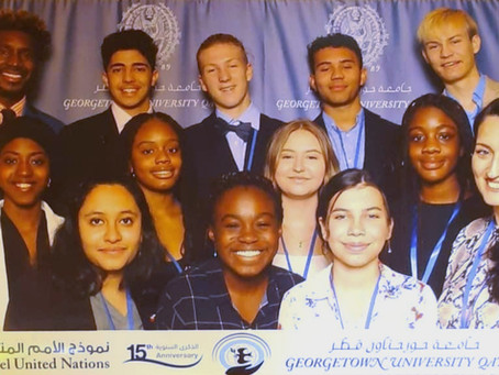 HS Model United Nations Team