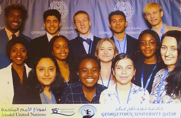 HS Model United Nations Team