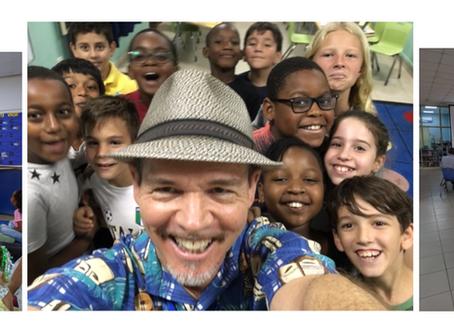 Author Bruce Hale Visits AISA