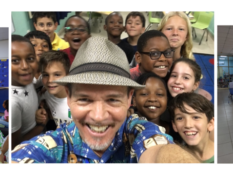 Author Bruce Hale Visits AISA