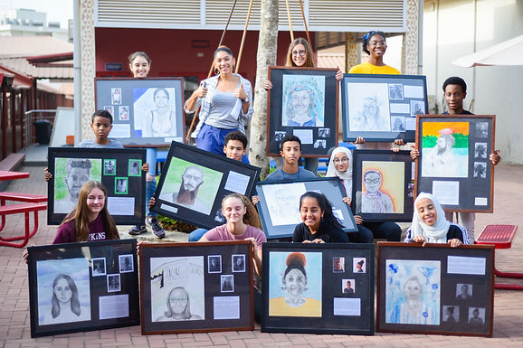 Grade 8 Art Exhibition