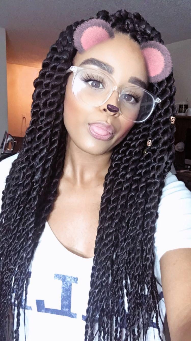 Senegalese Twists - Selfie