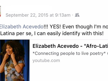 Elizabeth Acevedo: The Inspiration