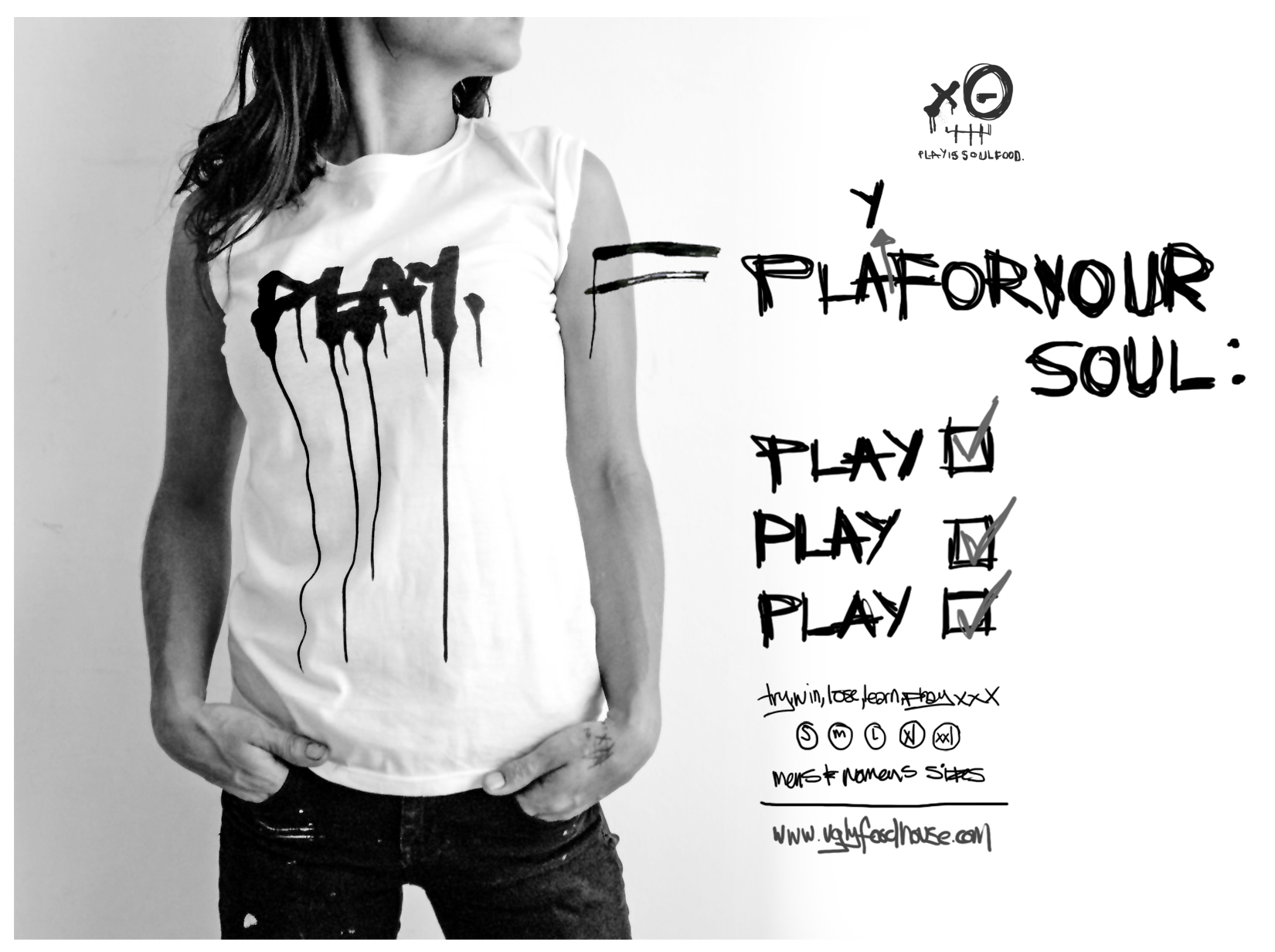 PLAY tshirt promo