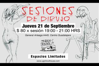 Sesiones De Dibujo @UglyFood House