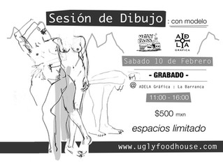 Sesión De Dibujo: LA BARRANCA