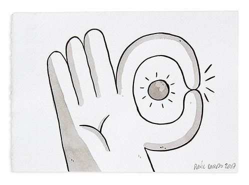 'O.K Fingers' by RAÚL PARDO