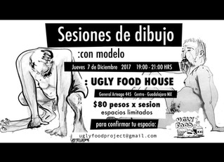 Sesiones De Dibujo: con Modelo @uglyfoodhouse