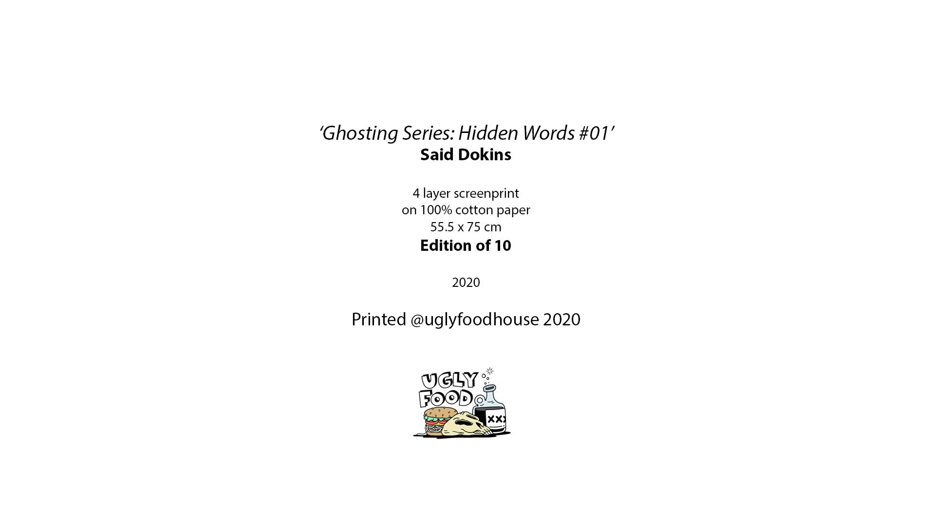 SAID  ghosting series 1 text vid