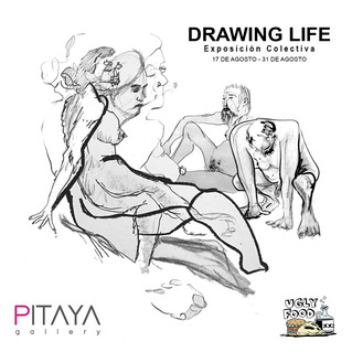 DRAWING LIFE: Ugly Food House x Pitaya Gallery, Gdl. Mexico