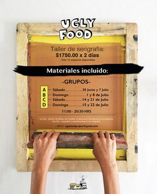 Taller de Serigrafía + Sesión de Dibujo:con modelo