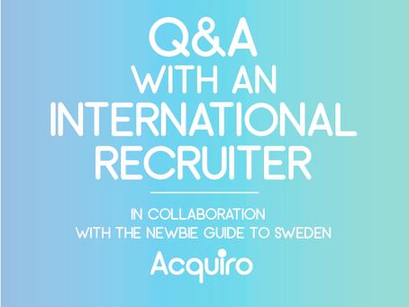 Q&A: International Recruitment