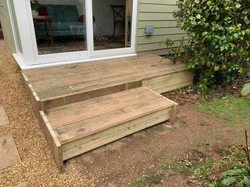steps to outside office in sidmouth