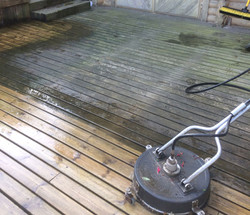 Our decking cleaning service