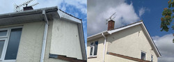 Fasia's & soffits cleaning service in Exeter & Eastdevon