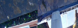 Gutter cleaning / clearance we did in Exmouth, EastDevon