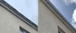 gutter cleaning service in operation in newton poppleford
