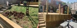 raised decking in Cranbrook