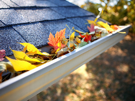Gutters ready for winter