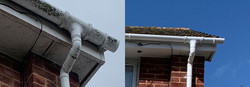 our soffits and fascia clean in Tipton ST John