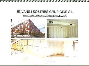 Cartró-guix: 750 m2 d'envans, 4.634 m2 de trasdossats i 4536 m2 de fals sostres.