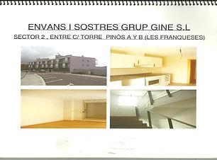 Cartró-guix: 1.900 m2 de subministre i col·locació de fals sostres.