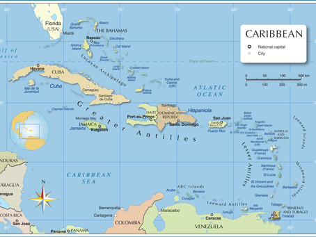 The overview of the Islands of the Caribbean - an introduction...