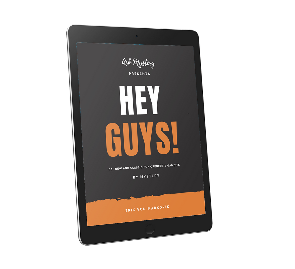 Hey Guys! by Mystery (eBook cover)