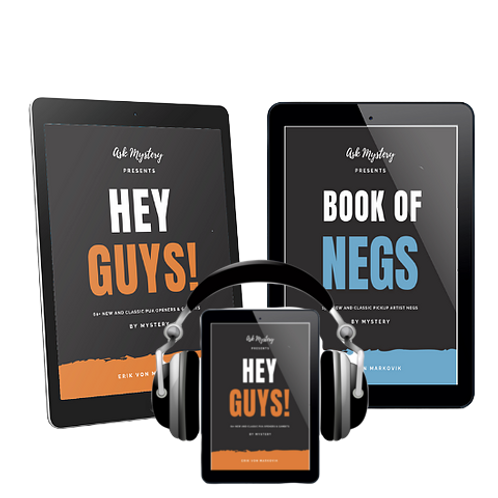 Mystery's  Bundle - Hey Guys! Audiobook + 2 eBooks - Hey Guys! and Book of Negs