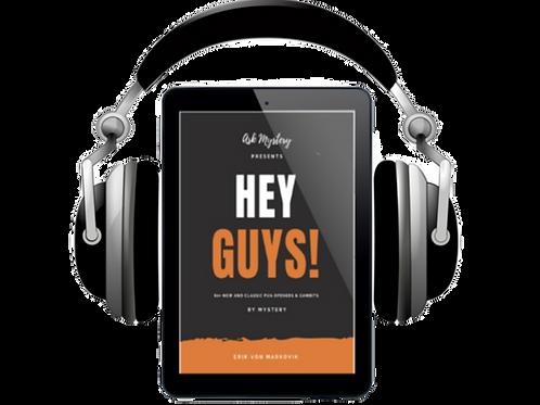 Hey Guys! Audiobook - Spoken by Mystery Himself