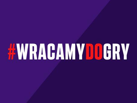 #WRACAMYdoGRY!
