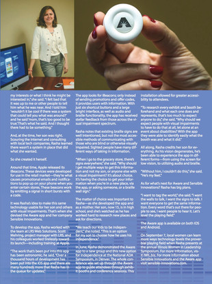 Sensible Innovations featured in Springfield's Own Magazine