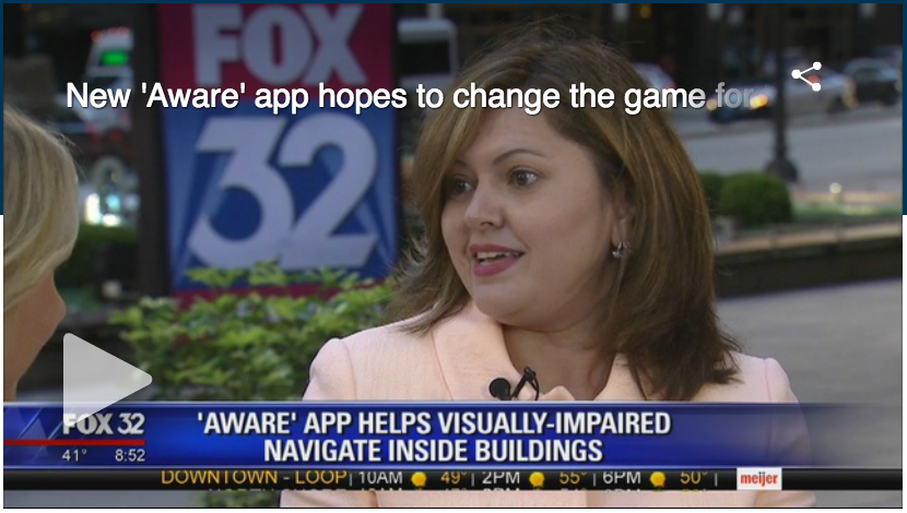 Aware hopes to the change the game for the visually impaired.