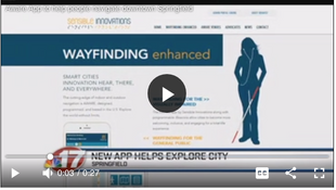 Aware App to help people navigate downtown Springfield