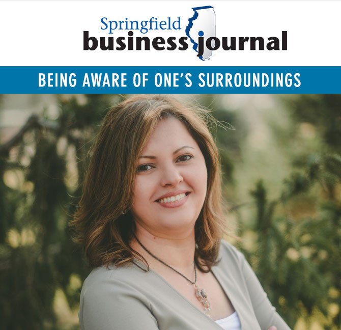Rasha Said and the AWARE app featured in SBJ article.