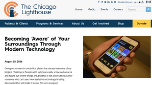 Sandy's View: Becoming 'Aware' of Your Surroundings Through Modern Technology