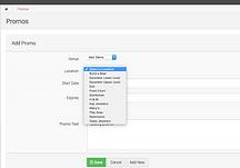 AWARE Wayfinding app admin area to make updates