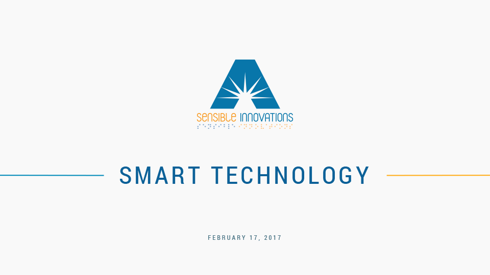 Smart Technology PowerPoint Presentation Cover