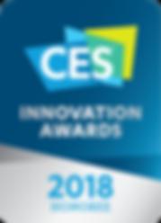 CES Innovation Awards 2018 Honoree Logo