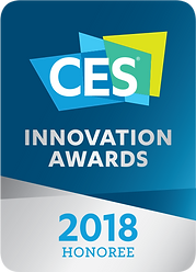 CES Innovation Awards 2018 Honoree Logo