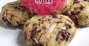 Vegan Potato-Cabbage Tikki Cutlets